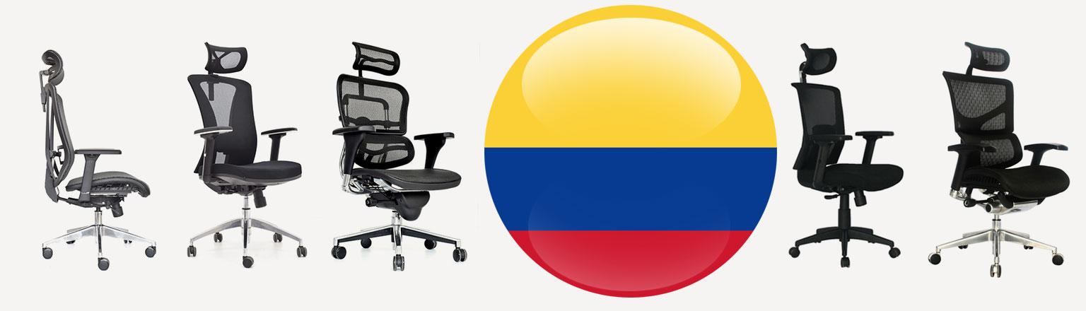 referencias sillas ergonomicas en Colombia